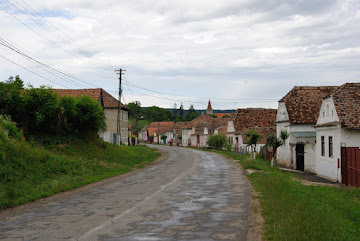 Das Siebenbürger Straßendorf Saros