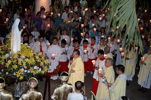 Giáo xứ thánh Đa Minh tôn vinh Đức Mẹ Fatima (13/5/2016)