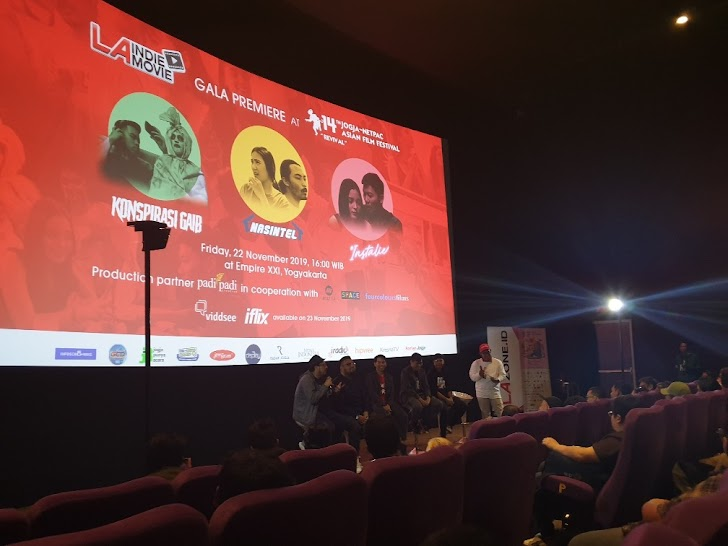 Gala Premiere 3 Film Asyik LA Indie Movie di JAFF