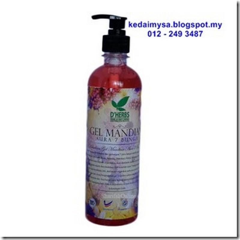 Dherbs Mandian Aura 7 Bunga Set Herba Gel