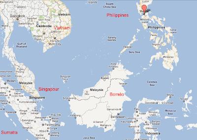 De Singapour aux Philippines