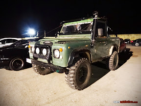 Land Rover at the maltese raceway