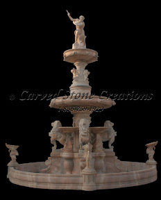 carved stone, Estate, Fountain, Gallery, Natural Stone, Pool, Pool Surrounds, Statuary, Statues, Surround, Tiered