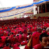 Massive religious gathering and enthronement of Dalai Lama's portrait in Lithang, Tibet. - l91.JPG