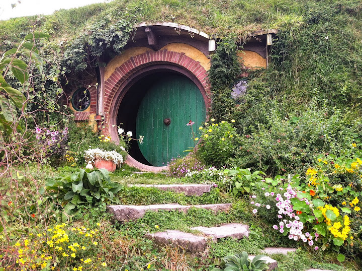 Bag End.  From My Real-Life Shire Adventure