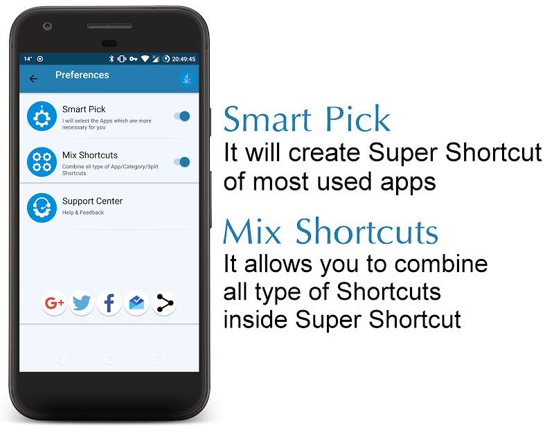 Super Shortcuts ᴾᴿᴼ Screenshot 3