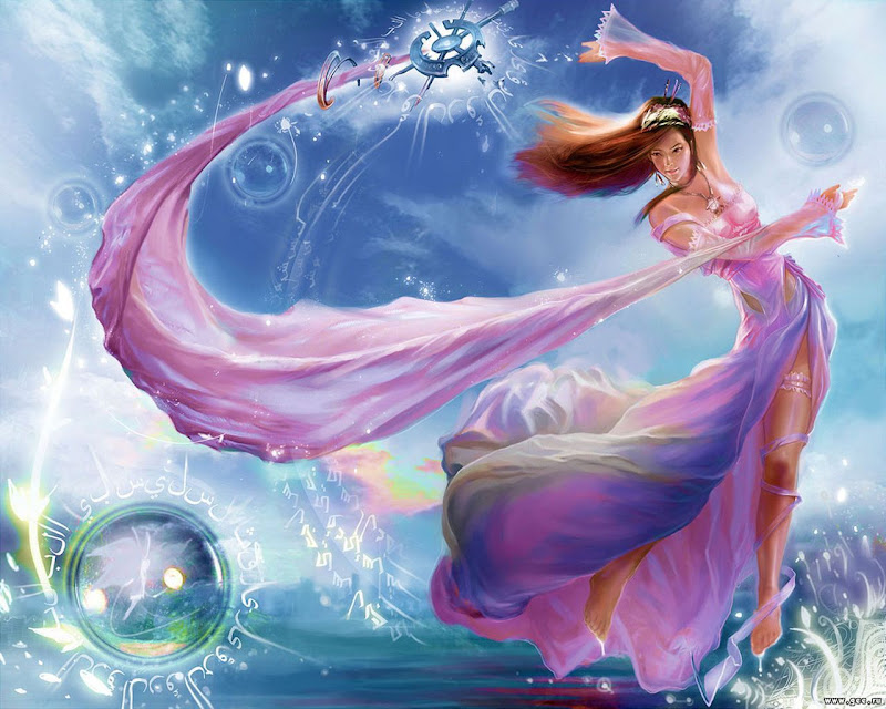 Charming Magician Of Fair, Magic And Spells 2
