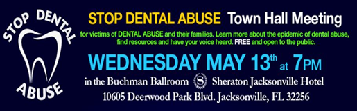 Stop Dental Abuse Town Hall2
