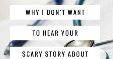 Why I Don't Want to Hear Your Scary Story About My Diagnosis