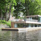Houseboat on the Eilbekkanal