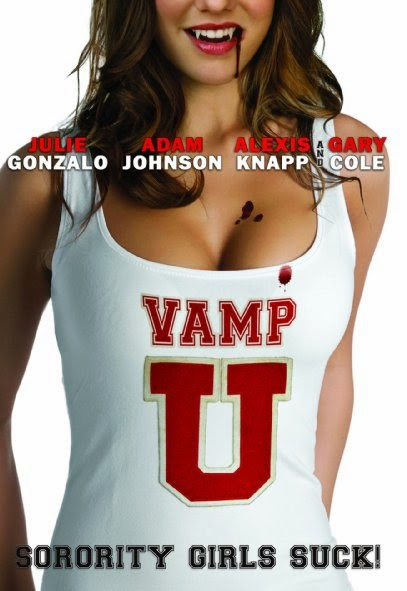 Poster Of English Movie Vamp U (2013) Free Download Full New Hollywood Movie Watch Online At Alldownloads4u.Com