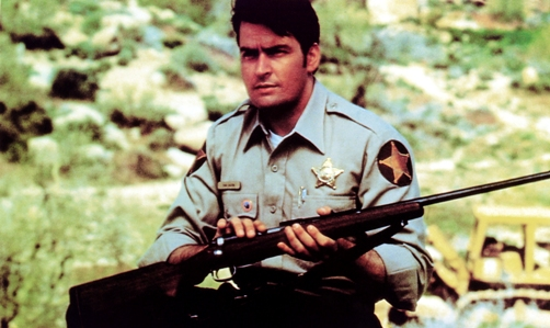 Charlie sheen above the law