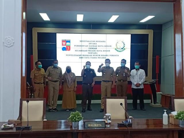 Pemkot Bogor dan Kejari MoU Penyelesaian Masalah Hukum