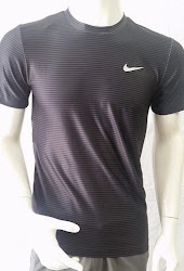 Áo thun thể thao nam cao cấp Nike đen 003