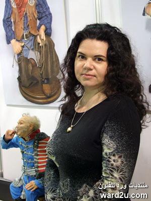 دمى شعبية كبيرة ابداع الفنانة الروسية Natalia Zotov