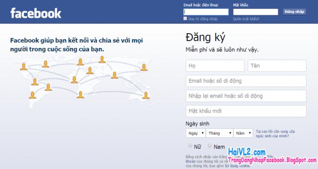 đổi giao diện facebook từ tiếng anh sang tiếng việt thành công