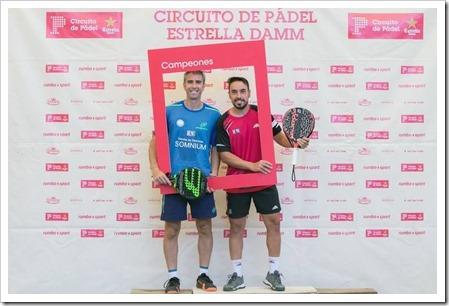 Raúl Díaz se ha hecho, nuevamente, con la primera categoría masculina esta vez de la mano de Pablo González Nería
