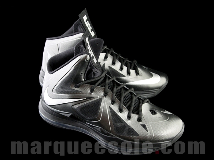 low priced 4bacf c4fd4 Preview of the Nike LeBron X Black Anthracite 8220Black Diamond8221 .