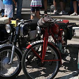 Encuentro motos antiguas en Lobón