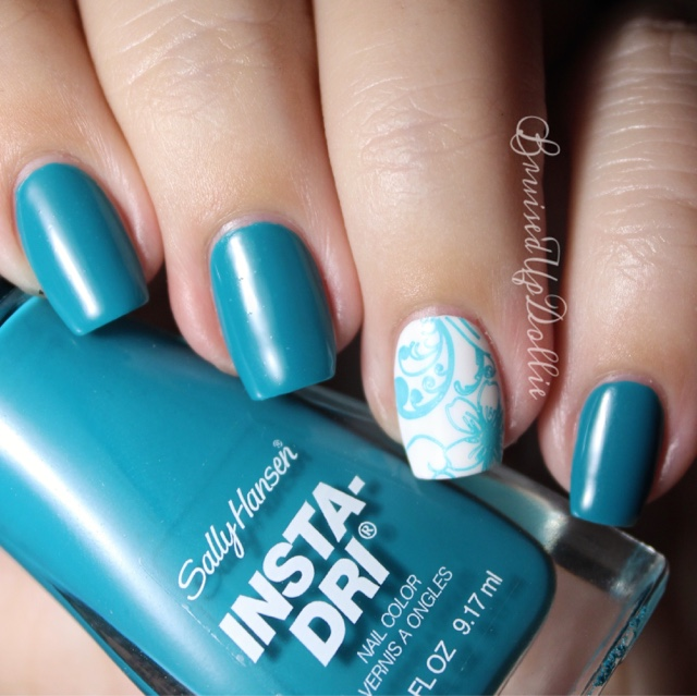 Insta dri stamping - BruisedUpDollie Nails