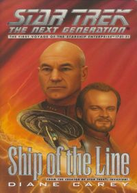 Tng Ship Of The Line By Diane Carey