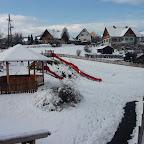 Winter rund ums Schulhaus