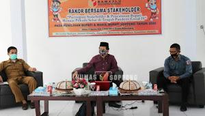 Bawaslu Sopppeng Gelar Rakor Bersama Stakeholder