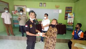 Kampung Tanjung Sari Bagikan Dana BLT -DD