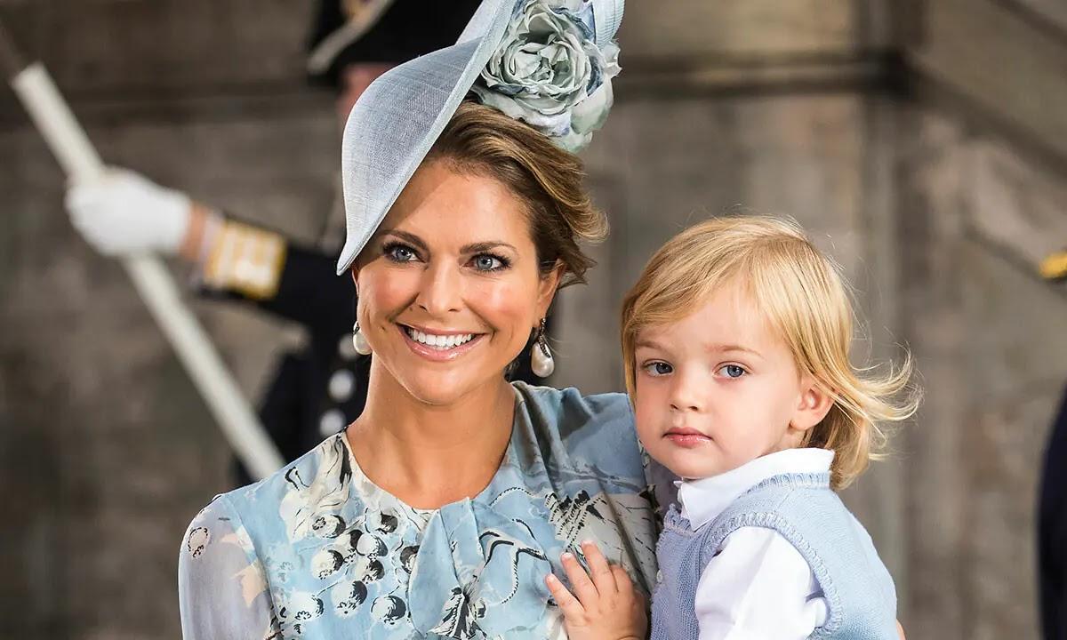 Sweden's Princess Madeleine Shares Rare Photo of Prince Nicolas to Mark Special Day