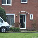 Hennepplantage aan Johan van Oldenbarneveldstraat Oude Pekela opgerold - Foto's Teunis Streunding