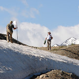 Alabel Pass, 3300 m (Kyrgyzistan), 28 juin 2006. Photo : E. Zinszner