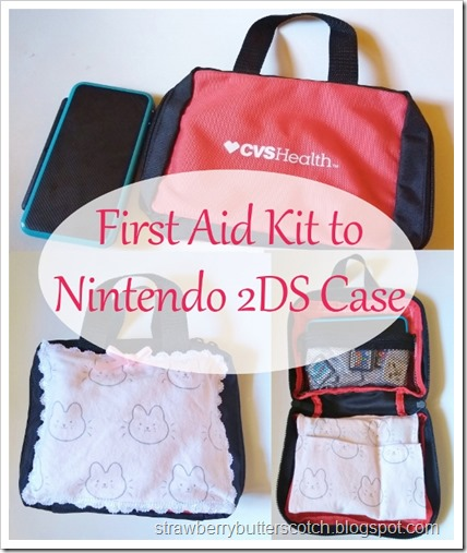 First Aid Kit to Nintendo 2DS Case.