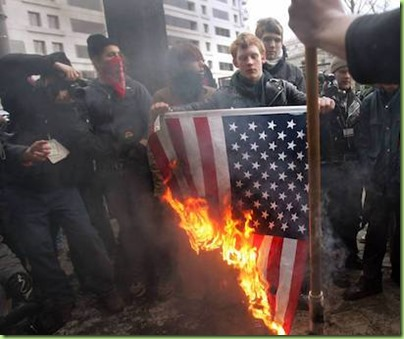 antifa flag burning2