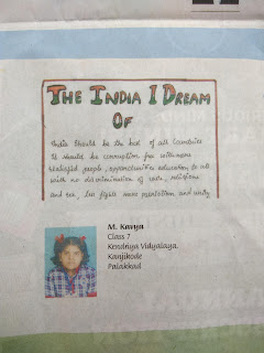 Kavya M Class 7 bags second prize in The Hindu in School Essay Contest