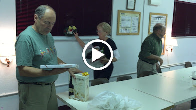 Video: There's always the cleanup---many hands made light work :).