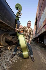 """Lee Rocker photographed on 12/14/11 for the """"Last Train To Memphis"""" CD artwork"""