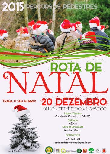 Caminhada na freguesia de Ferreiros celebra o Natal