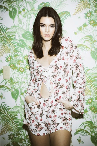 Kendall and Kylie Jenner PacSun Valentines Day Collection 2015