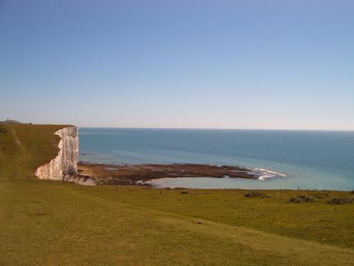 Rocks below the 7 Sisters at low tide