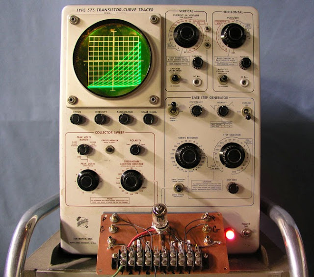 New Toy: Tektronix 575 Transistor-Curve Tracer (Restoration Project