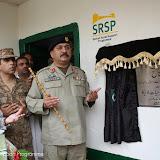 Inauguration ceremony of 30 KW MHP in Lajbok Dir Lower by Commander Dir Task Force Col. Nasar Umer Hayat Laleka.