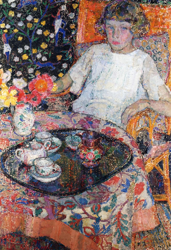 Leon De Smet – Little Girl at the Table