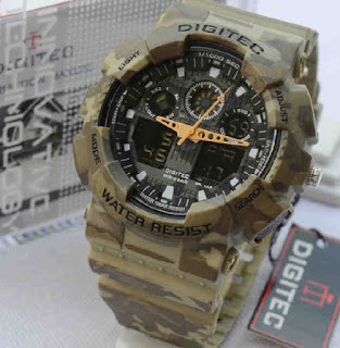 jam tangan Digitec 2072 Army rubber