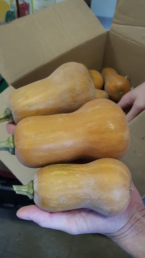 Just-picked butternut squash.Foodie Finds: Mercer Hall, Stratford, Ontario