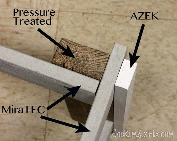 Composite Weather Resistant Bench (AZEK, MiraTEK, Trex