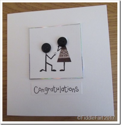 Button Engagment Card