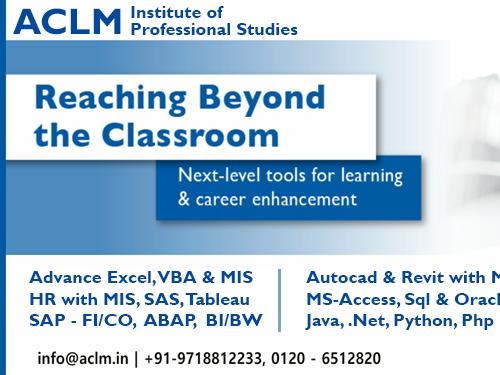 ACLM Institute of Advance Excel, VBA, MIS, Digital Marketing, HR