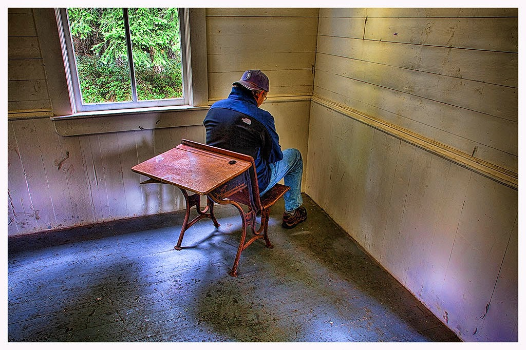 """Schoolhouse Truancy"" by Tim O'Neill 2nd place Digital Special ""A"""