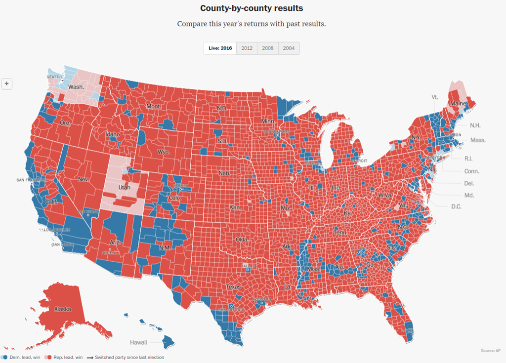 Us Elections Live Results Map - Us elections live results map