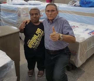 Paulinho da Marinlar tem melhora em seu quadro de saúde e já respira sem aparelhos